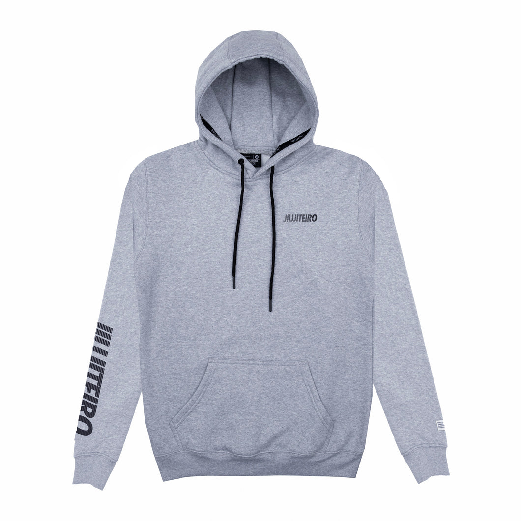 BLOCK ATHLETIC HOODIE GRAY