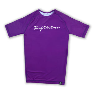 CORE 19 PURPLE RASHGUARD