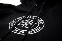 Load image into Gallery viewer, ROOTED ATHLETIC HOODIE BLACK