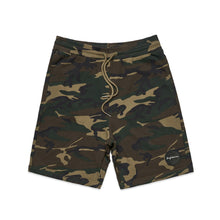 Load image into Gallery viewer, CASUAL FRENCH TERRY CAMO SHORTS