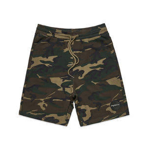 CASUAL FRENCH TERRY CAMO SHORTS