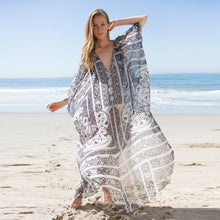 Load image into Gallery viewer, Oversized Chiffon Beach Blouse Holiday Sun Protection Cover-Up