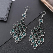Load image into Gallery viewer, Retro Chinese Style Multi-layer  with High-grade Earrings and National Peach Ornaments Earrings