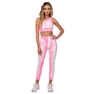 Candy Color Sweet Fashion Yoga Suits