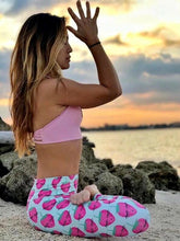 Load image into Gallery viewer, Strawberry Pattern Fresh Yoga Leggings