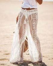 Load image into Gallery viewer, Sexy High-waist Lace Openwork Perspective Pants