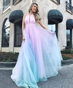 Halter-style Sexy Long Dress