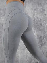 Load image into Gallery viewer, Sports Solid High Waisted Leggings