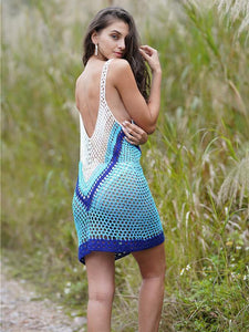 Hollow Sexy Knitting Bohemia Cover-ups Swimwear