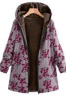 Load image into Gallery viewer, Autumn And Winter Women Hooded Thick  Long Coat
