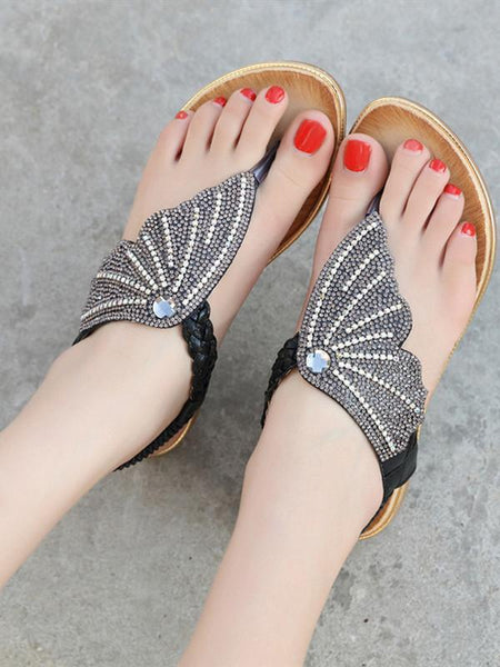 Holiday Beach Beach New Fashion Water Large Size Flat Shoes