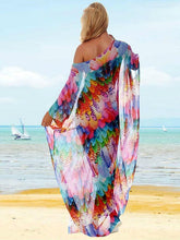 Load image into Gallery viewer, Shivering Chiffon Beach Resort Dress Bikini Cover Up