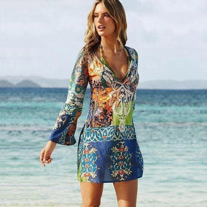 Sexy Chiffon Bikini Cover Up Beach Swimwear Dress Scarf Pareo Sarong Wrap Ladies Summer Dress