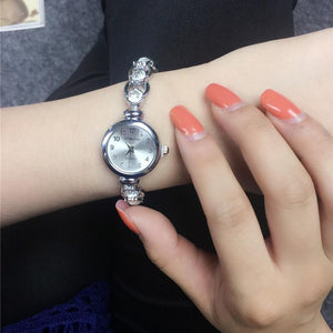Casual Fashion Bracelet Watch Upscale Hollow Watch