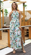 Load image into Gallery viewer, Boho Beach 2018 New Print Sleeveless Maxi Dress