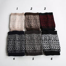 Load image into Gallery viewer, Boot cuff thick short-sleeved thick thick bamboo knit wool yarn socks - 4