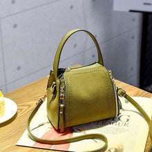 Load image into Gallery viewer, Stylish PU Leather Small Square Shoulder Bag Multi-pockets Crossbody Bag For Women