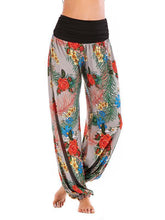 Load image into Gallery viewer, Floral Printed Wide Leg Casual Pants