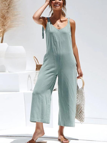 Spring/Summer Fashion Women's Wear Sling Jumpsuit