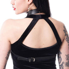 Load image into Gallery viewer, Punk Harajuku collar restraint sexy wild belt female waist chain