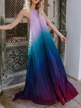 Load image into Gallery viewer, Halter Sleeveless Bohemia 2018 Maxi Dress