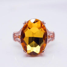 Load image into Gallery viewer, Fashion Engagement Marriage Goose Egg Zircon Ring