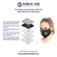 Load image into Gallery viewer, Reusable Sport Mask - Public-Use Health