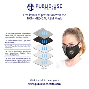 Reusable Sport Mask - Public-Use Health