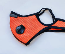Load image into Gallery viewer, Orange Reusable Sport Mask