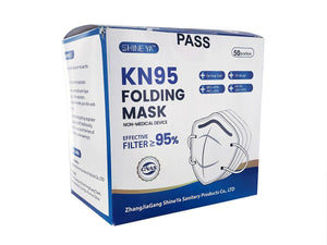 KN95 Protective Face Mask (Quantities of 10)