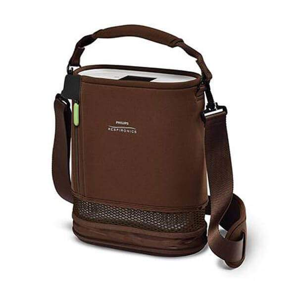 SimplyGo Mini Carry Bag and Strap Brown