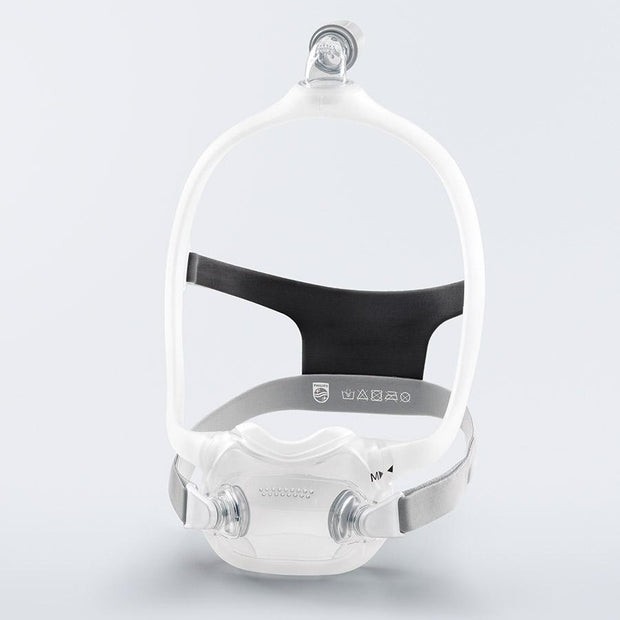 DreamWear Full Face Mask White Grey Side