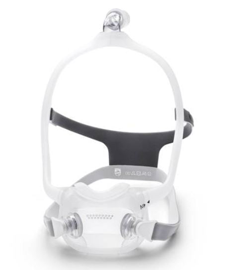 DreamWear Full Face Mask White Grey Front