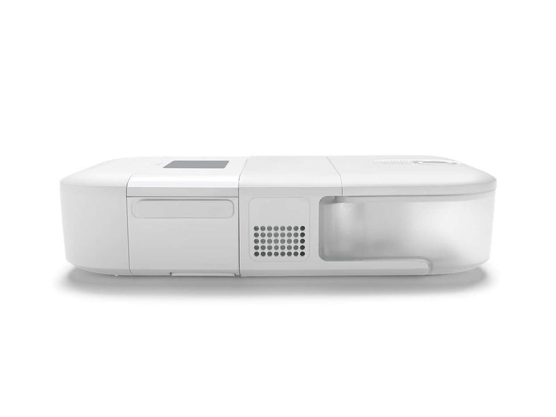 Heated Humidifier White Machine Side View