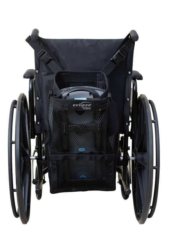 Oxygen Generator Black Wheelchair