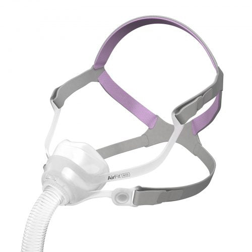 DreamWear Full Face Mask Purple Grey Side