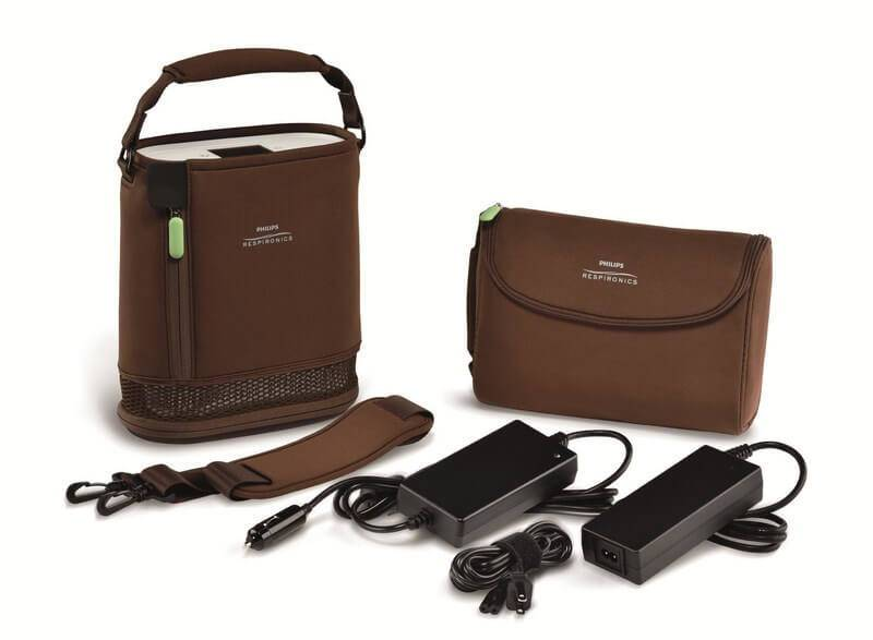 Simplygo Mini Extended Battery Brown Bag And Accessories