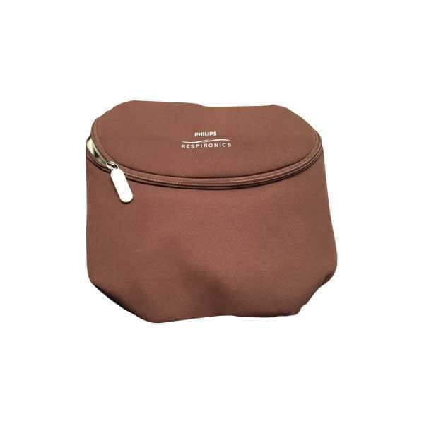 Portable Oxygen Machine Zip Bag Brown