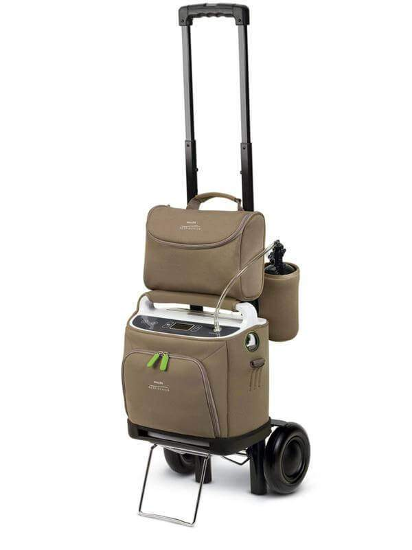 Simplygo Portable Oxygen Machine On Cart