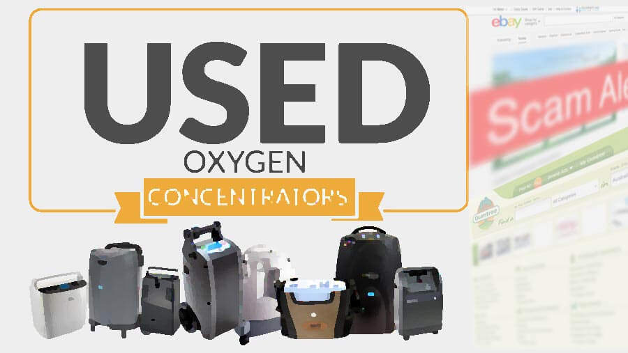 used coxygen concentrator scam
