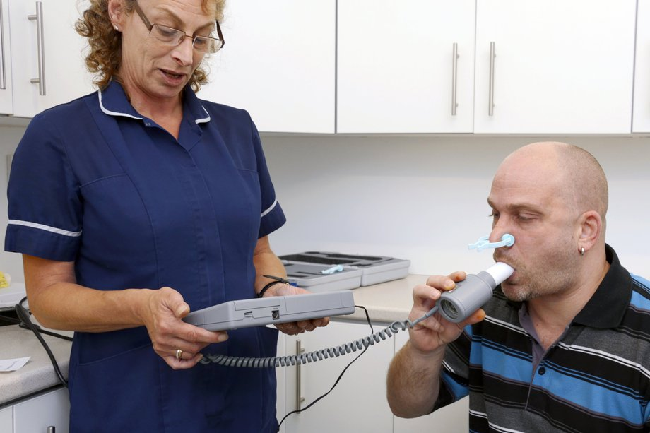 Spirometry to diagnose COPD