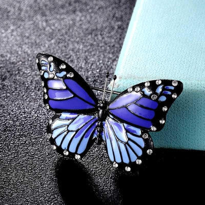 Hina Brooch - A beautiful butterfly brooch available in an assortment of lovely colours.