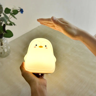 Boopimals - Penny Guin - An adorable silicon nightlight shaped like a cute, chubby little penguin.