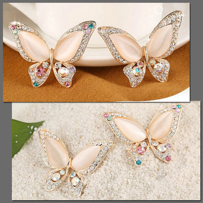 Cute Critters Brooch - Pearlescent Butterfly - Adorable butterfly brooch in assorted lovely pastel colours.