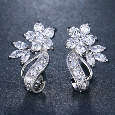 Bijoux Crystal Comet Earrings