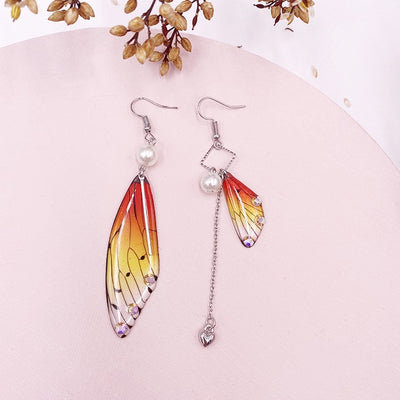 Aisling Fairy Wing Earrings