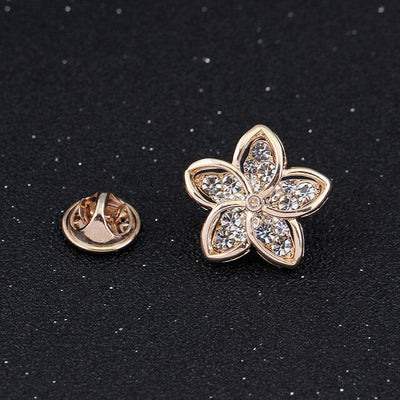 The L'Petite Lapel Pins - An assortment of lovely sparkly little brooches available in an assortment of different designs.