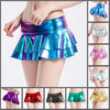 Truly Outrageous Holographic Micro Mini - A super-short, super-cute holographic miniskirt made of faux leather, available in nine vibrant colours.