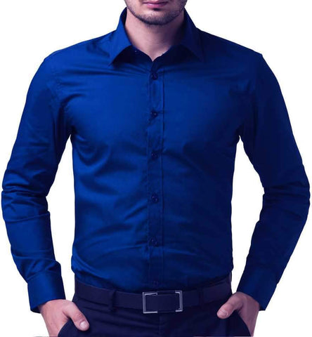 Blue fancy T-shirt (4256214548554)