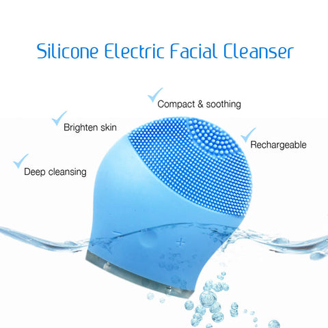 [89009] Silicone Electric Facial Cleanser